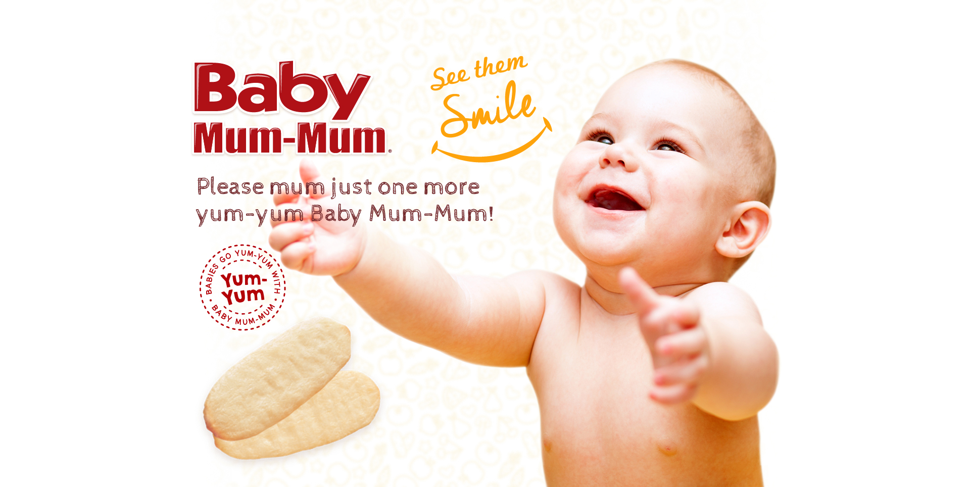Happy baby with Blueberry & carrot product range